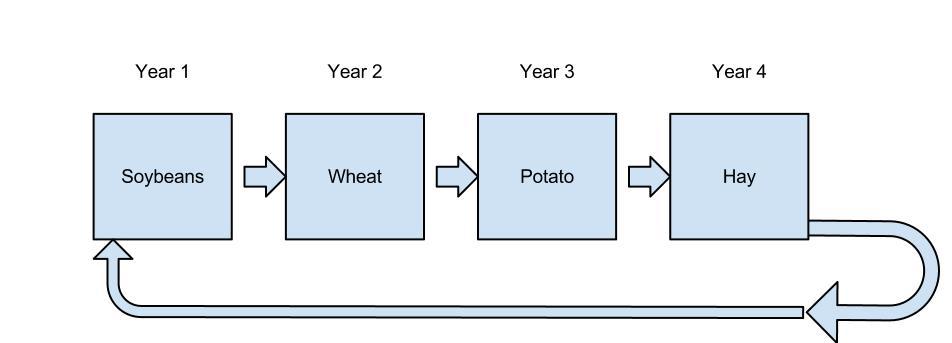Crop rotation definition - Crop rotation chart